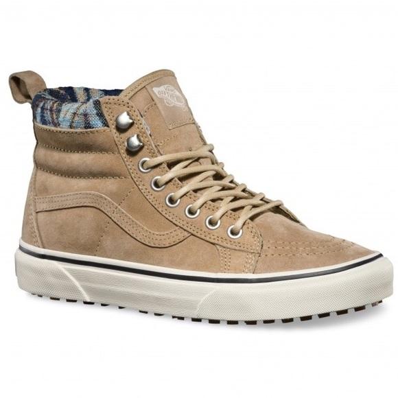 Vans Shoes | Vans Nwb Sk8hi Mte Khaki